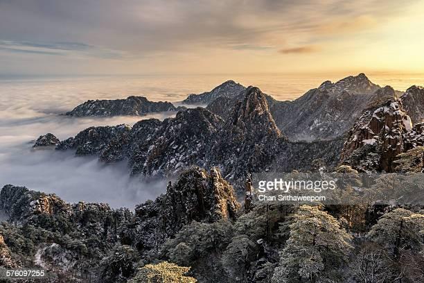 Mt.Huangshan in winter , Anhui , China