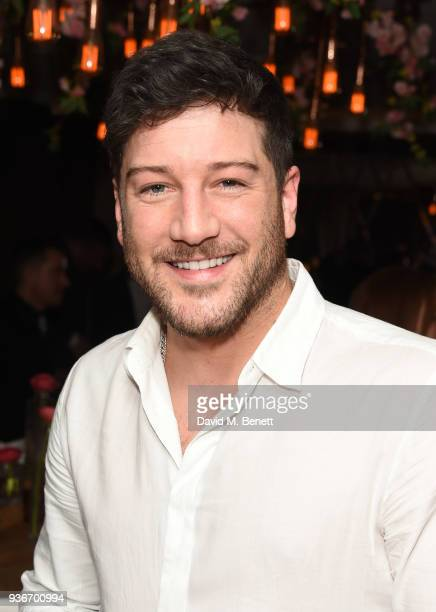 Mtt Cardle attends Beverley Knight's birthday party at The May Fair Hotel on March 22 2018 in London England