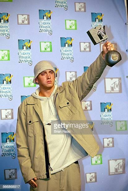Mtv Europe Music Awards Ceremony In Dublin Eire 1999 Eminem At The European Mtv Music Awards In Dublin Ireland