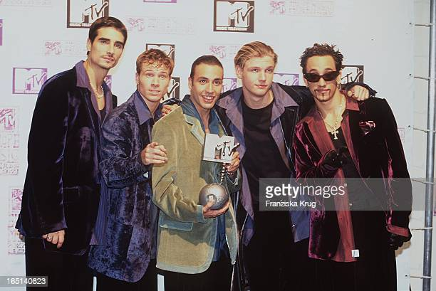 Mtv Europe Music Awards In Rotterdam Backstreet Boys Bei Preisverleihung
