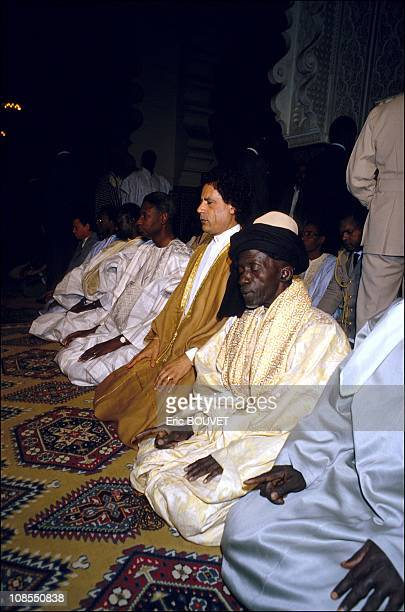 Muammar Al Kadafi in Dakar Senegal December 03rd 1985