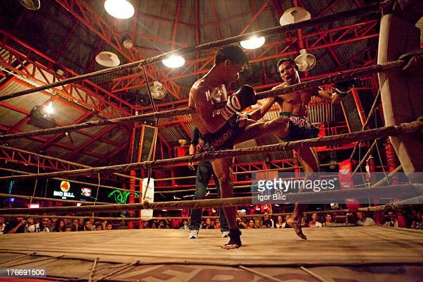 CONTENT] Muay Thai boxing match Koh Samui Thailand