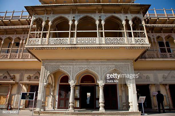 Mubarak Mahal was built by Sawai Madho Singh in the 19th century to entertain his guests. Today, it has converted into a costume gallery, which...
