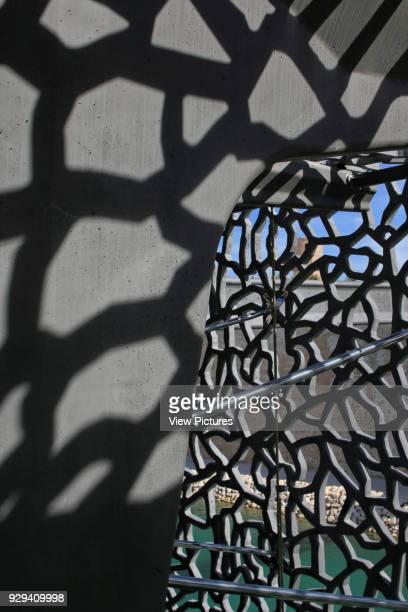 MuCEM Marseille France Architect Rudy Ricciotti 2013 Lacelike ornamental concrete