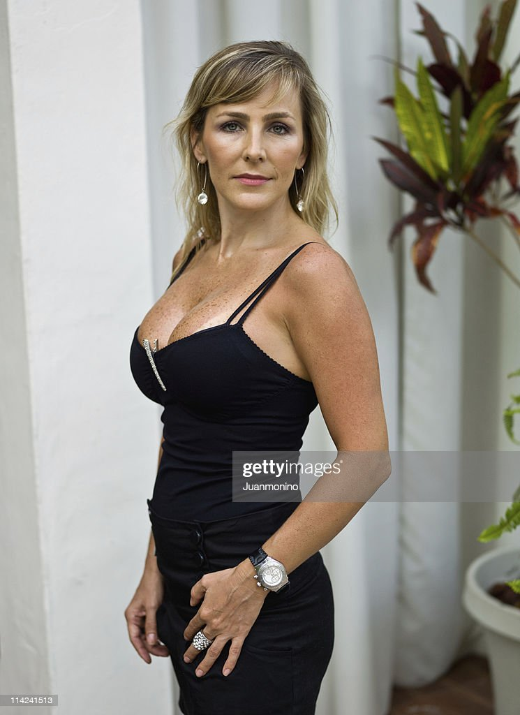 Much Better At Her Forties High-Res Stock Photo - Getty Images-6876