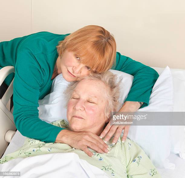 Much loved mother in hospital