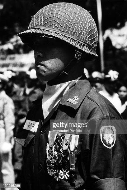 A muchdecorated Vietnamese military serving in the Presidential Special Corps Saigon 1968