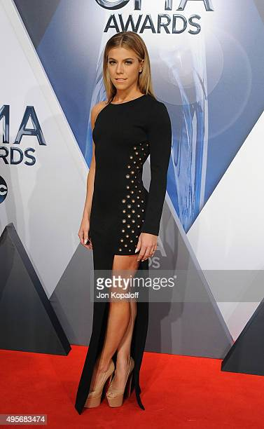 Mucisian Kimberly Perry of The Band Perry attends the 49th annual CMA Awards at the Bridgestone Arena on November 4 2015 in Nashville Tennessee
