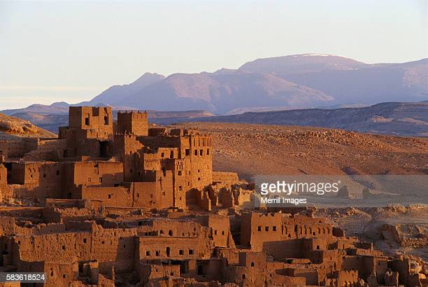 Mud Brick Homes of Ait Benhaddou, Morocco