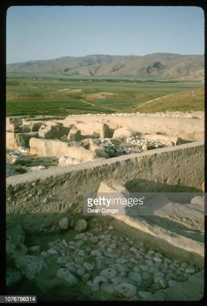 Mud Building Ruins in Jordan Valley