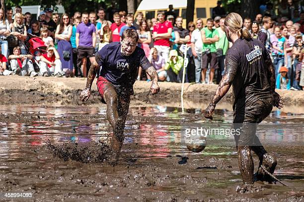 mud football - swamp stock pictures, royalty-free photos & images