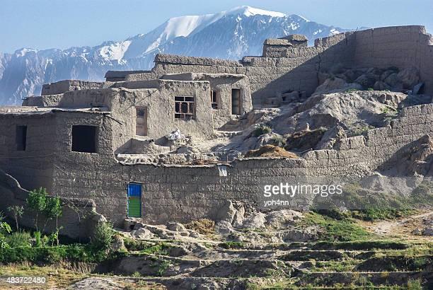 Mud house in Afghanistan
