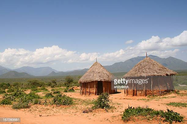 mud hut 01 - shack stock pictures, royalty-free photos & images