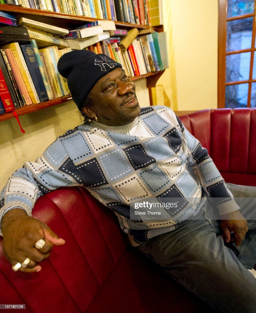 Mud Morganfield, the eldest son of legendary Blues musician Muddy Waters, poses during an exclusive portrait session at Flower Pot on November 29, 2012 in Derby, England.