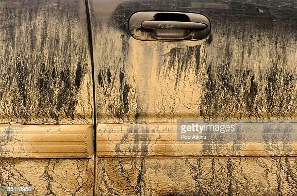 Mud on Sport Utility Vehicle