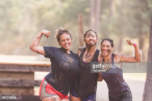 mud run fundraiser! - fundraising stock pictures, royalty-free photos & images
