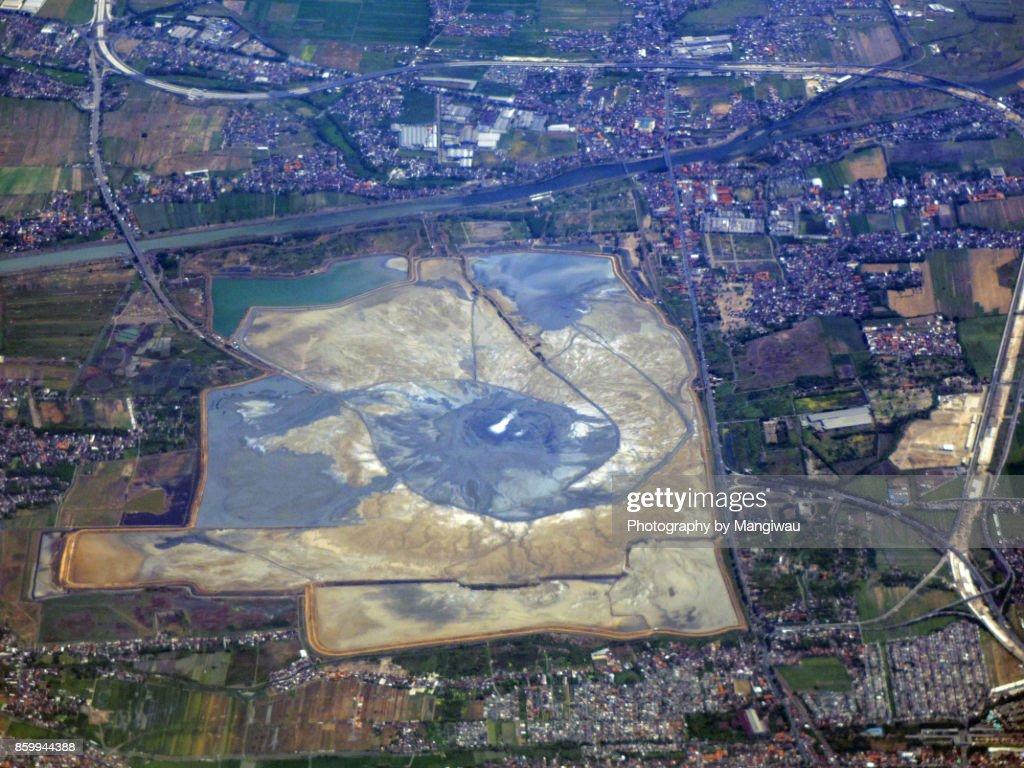 Mud Volcano : Stock Photo