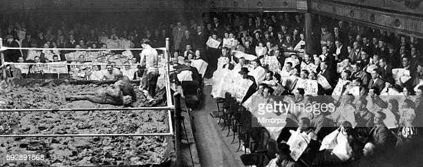 Mud Wrestling May 1938 P012639
