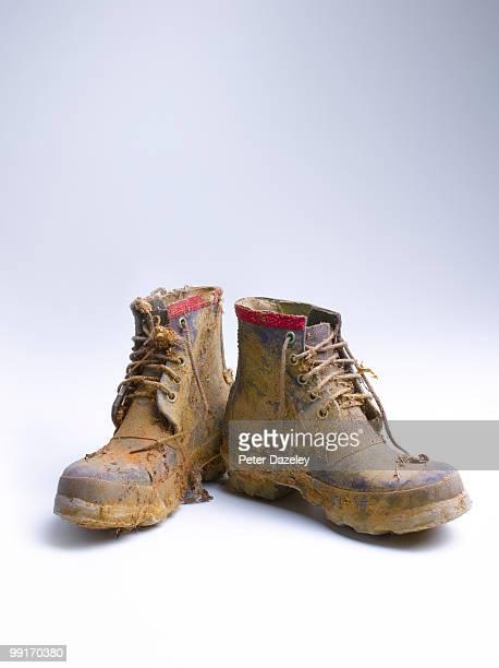 Muddie walking boots