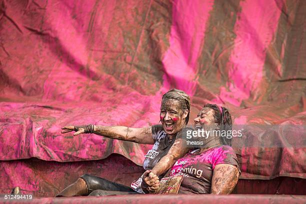 muddy fundraising - charity benefit stock pictures, royalty-free photos & images