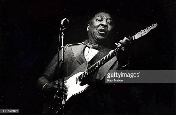 Muddy Waters on 6/12/79 in ChicagoIl