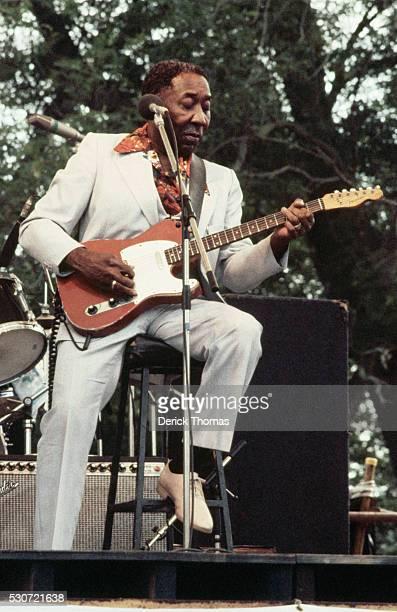 Muddy Waters Performing at Capital Radio Jazz Festival