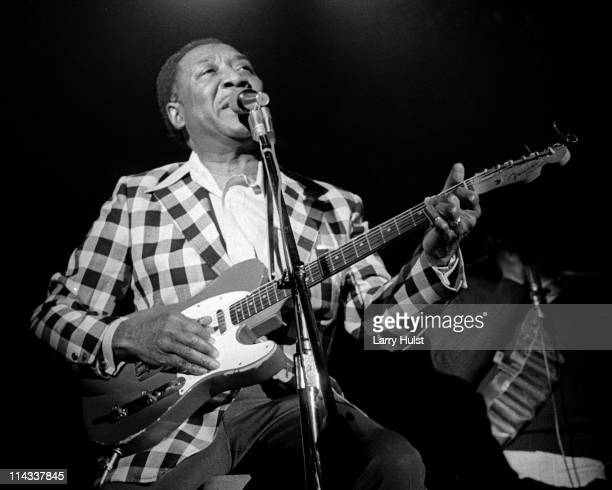 Muddy Waters performs at Winterland Auditorium in San Francisco California on May 18 1973