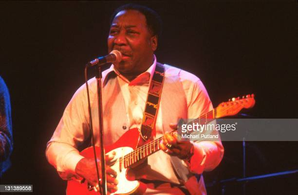 Muddy Waters performs on stage New York 1977