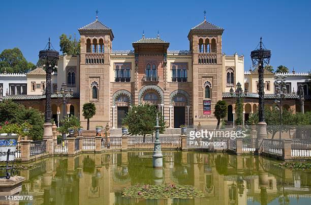 Mudejar Pavilion, Plaza de America, Seville, Spain
