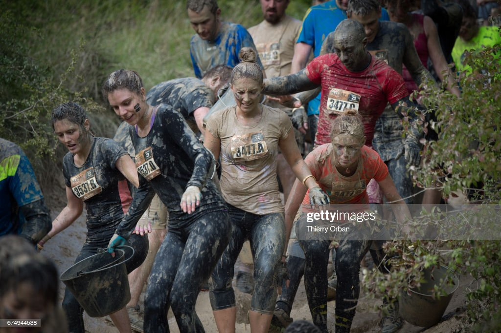 Paris Mud Day At Beynes : News Photo