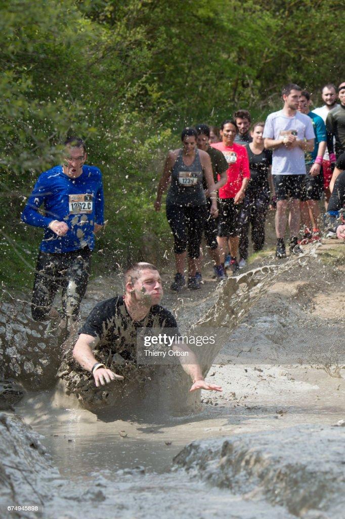 Paris Mud Day At Beynes : News Photo