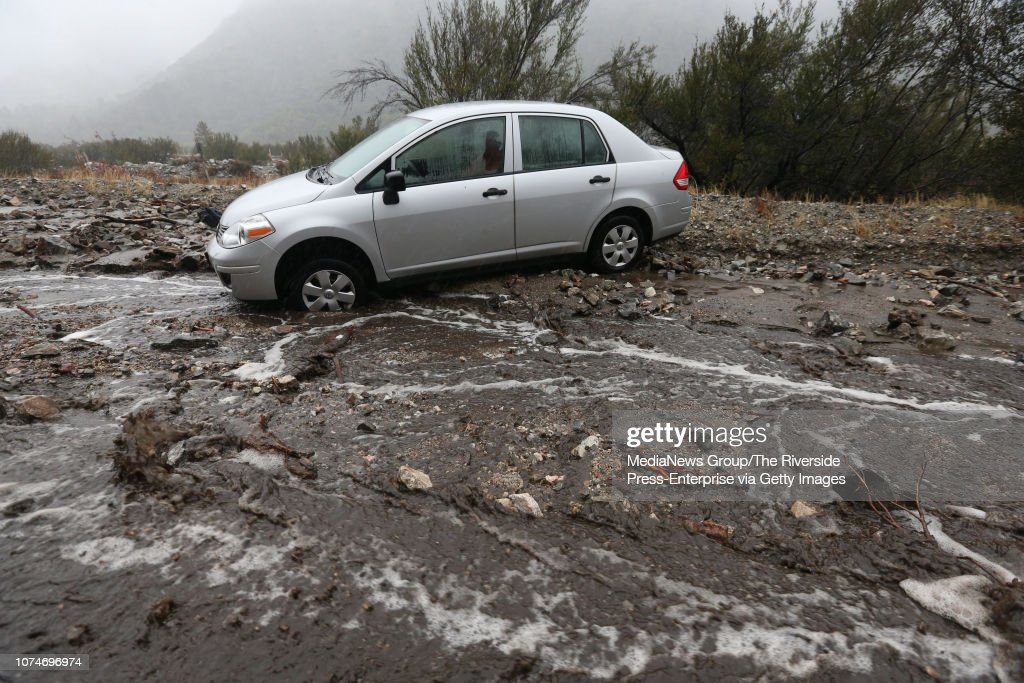 Rain Comes To The Inland Area Bringing Flooding And Mudslides : News Photo
