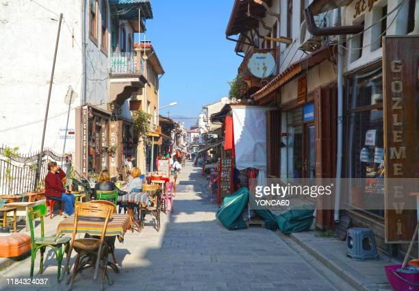 mudurnu, bolu, turkey - bolu city stock photos and pictures