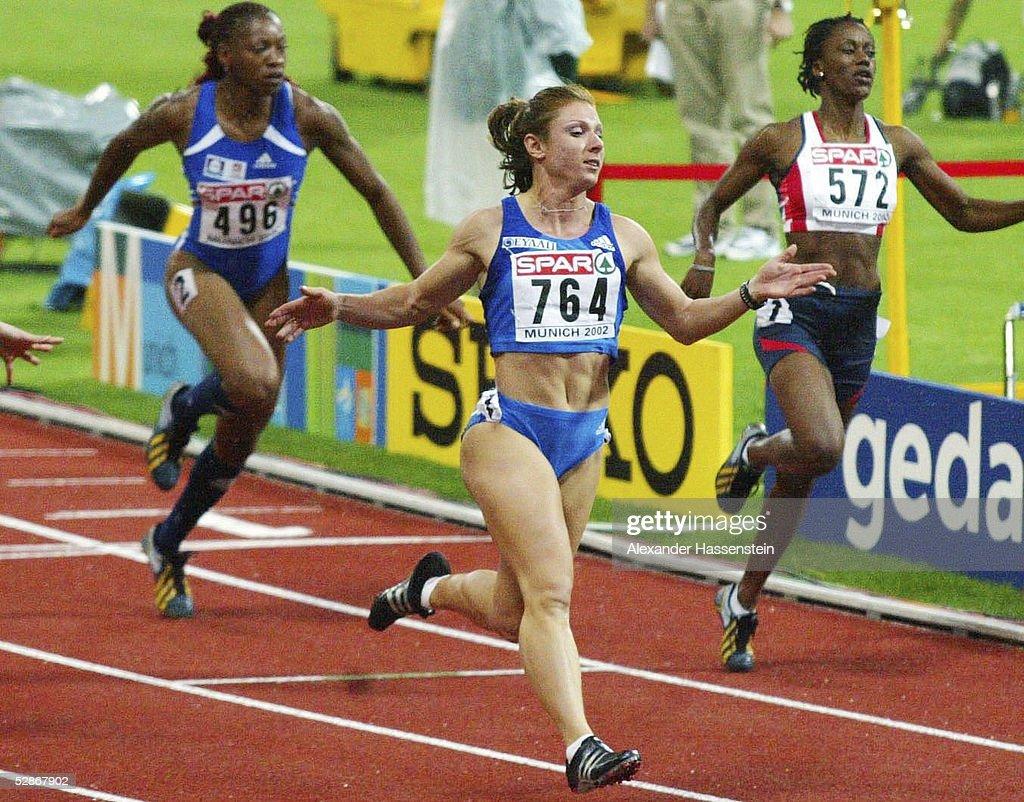 neueste kaufen limitierte Anzahl wie man wählt EM 2002, Muenchen; 100m FINALE/FRAUEN; SIEGERIN Ekaterina ...