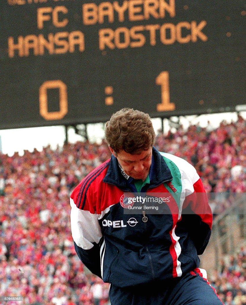FUSSBALL: 1.BUNDESLIGA 95/96/FC BAYERN MUENCHEN : News Photo