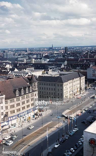 GER Muenchen ca 1958 innenstadt