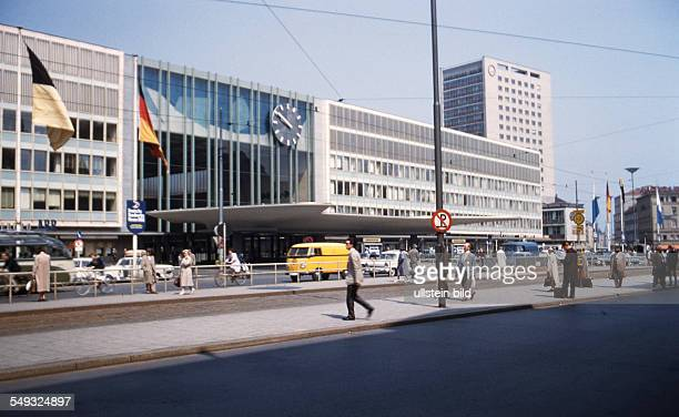 Muenchen ca. 1961 Innenstadt, Hauptbahnhof