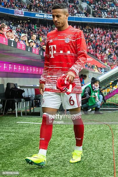 Muenchen Deutschland Bundesliga 3 Spieltag FC Bayern Muenchen FC Ingolstadt 04 Thiago Alcantara