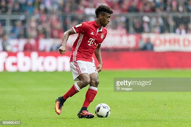 Muenchen Deutschland Bundesliga 3 Spieltag FC Bayern Muenchen FC Ingolstadt 04 Kingsley Coman