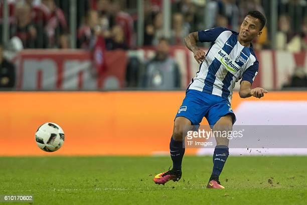Muenchen Deutschland Bundesliga 4 Spieltag FC Bayern Muenchen Hertha BSC Allan Rodrigues de Souza