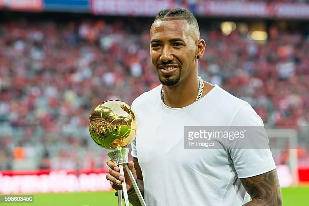 Muenchen Deutschland Bundesliga FC Bayern Muenchen SV Werder Bremen Jerome Boateng erhalt die Auszeichnung Deutschlands Fußballer des Jahres