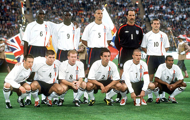 FUSSBALL/WM-QUALIFIKATION 2001: GER - ENG 1:5