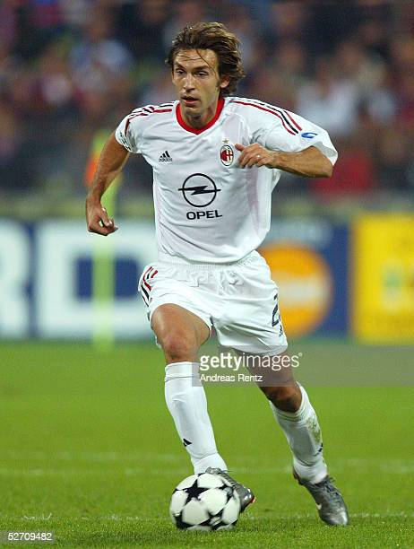 LEAGUE 02/03 Muenchen FC BAYERN MUENCHEN AC MAILAND 12 Andrea PIRLO/AC MAILAND