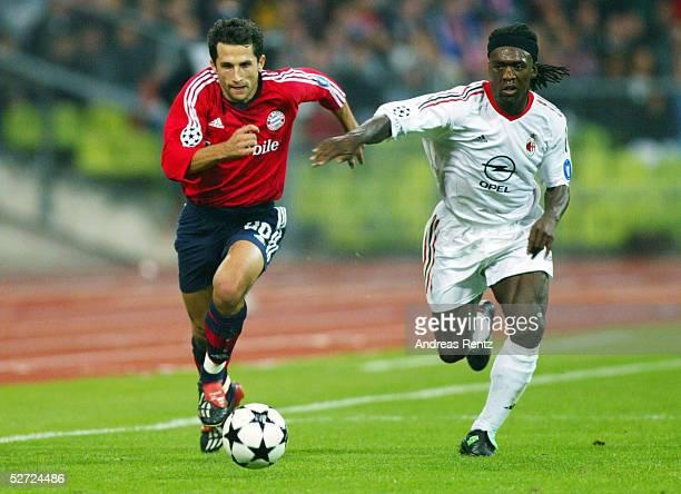 LEAGUE 02/03 Muenchen FC BAYERN MUENCHEN AC MAILAND 12 Hasan SALIHAMIDZIC/BAYERN Clarence SEEDORF/MAILAND