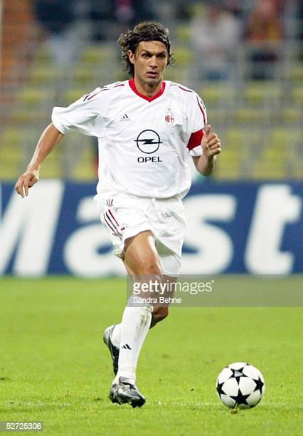 LEAGUE 02/03 Muenchen FC BAYERN MUENCHEN AC MAILAND 12 Paolo MALDINI/MAILAND