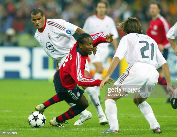 LEAGUE 02/03 Muenchen FC BAYERN MUENCHEN AC MAILAND 12 RIVALDO/MAILAND ZE ROBERTO/BAYERN Andrea PIRLO/MAILAND