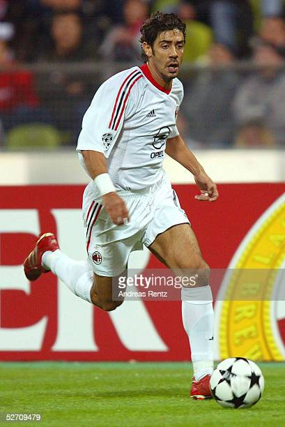 LEAGUE 02/03 Muenchen FC BAYERN MUENCHEN AC MAILAND 12 RUI COSTA /AC MAILAND