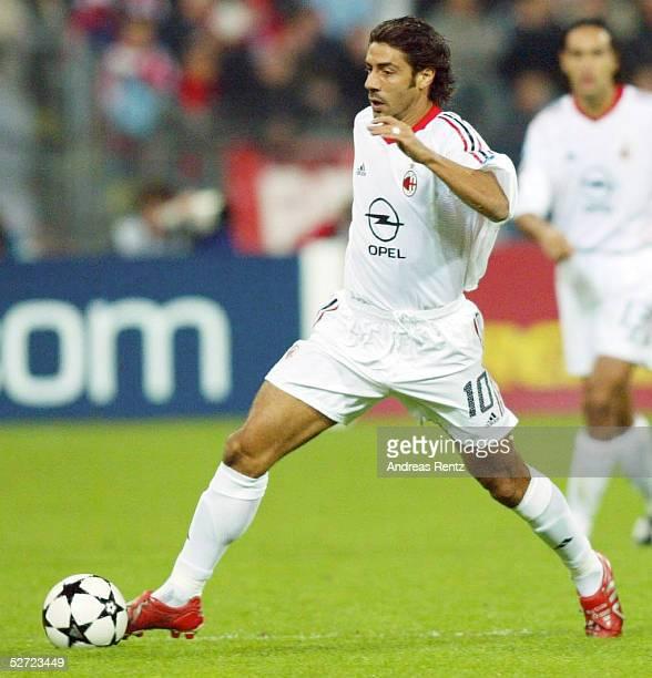 LEAGUE 02/03 Muenchen FC BAYERN MUENCHEN AC MAILAND 12 Rui COSTA/MAILAND
