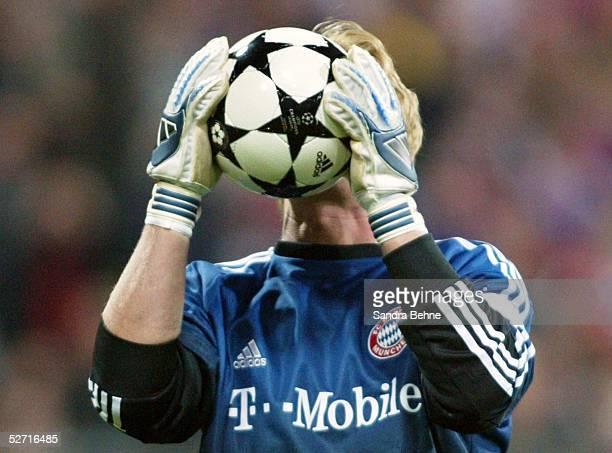 LEAGUE 02/03 Muenchen FC BAYERN MUENCHEN AC MAILAND 12 TORWART Oliver KAHN/BAYERN