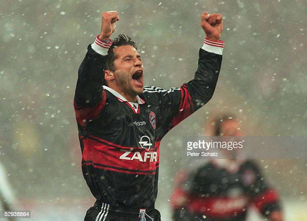 1 BUNDESLIGA 98/99 Muenchen FC BAYERN MUENCHEN EINTRACHT FRANKFURT 31 Hasan SALIHAMIDZIC/BAYERN